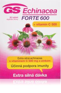 GS Echinacea Forte doplněk stravy pro akutní posílení obranyschopnosti organismu