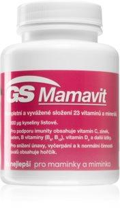 GS Mamavit tablety doplněk stravy pro ženy plánující těhotenství, těhotné a kojící