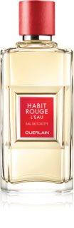 GUERLAIN Habit Rouge L'Eau eau de toillete για άντρες