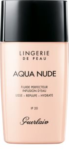 GUERLAIN Lingerie de Peau Aqua Nude Water-Infused Perfecting Fluid lehký hydratační make-up SPF 20