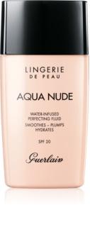 Guerlain Lingerie de Peau Aqua Nude lahki vlažilni tekoči puder SPF 20