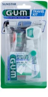 G.U.M Travel Kit Set de cuidado dental I.