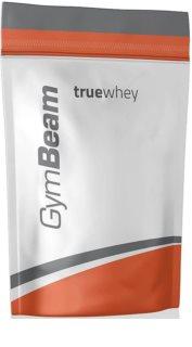 GymBeam Protein True Whey syrovátkový protein v prášku příchuť chocolate