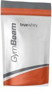 GymBeam Protein True Whey syrovátkový protein v prášku příchuť unflavored