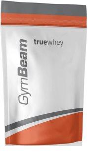 GymBeam Protein True Whey syrovátkový protein v prášku příchuť chocolate hazelnut