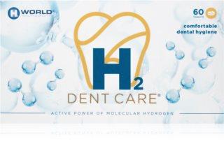 H2 Dent care tablety comprimidos para una limpieza intensa de dientes