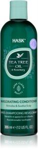 HASK Tea Tree Oil & Rosemary Verfrissende Conditioner  voor Droge en Jeukende Hoofdhuid