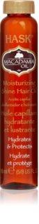 HASK Macadamia Oil olio idratante per capelli brillanti e morbidi