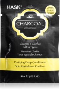 HASK Charcoal with Citrus Oil Deeply Nourishing Conditioner For Scalp Regeneration