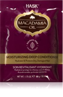 HASK Macadamia Oil Moisturizing Conditioner For Dry, Damaged, Chemically Treated Hair