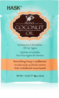 HASK Monoi Coconut Oil Revitalizing Conditioner for Shiny and Soft Hair