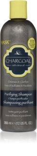 HASK Charcoal with Citrus Oil sampon pentru curatare pentru refacerea scalpului