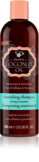 HASK Monoi Coconut Oil pečující šampon pro lesk a hebkost vlasů