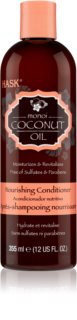 HASK Monoi Coconut Oil vyživující kondicionér pro lesk a hebkost vlasů
