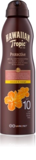 Hawaiian Tropic Protective olio abbronzante secco in spray SPF 10