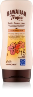 Hawaiian Tropic Satin Protection Water Resistant Sun Milk SPF 15