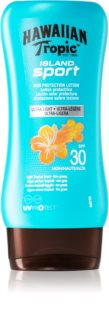 Hawaiian Tropic Island Sport Sun Body Lotion SPF 30