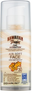 Hawaiian Tropic Silk Hydration Air Soft schützende Gesichtscreme SPF 30
