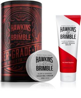 Hawkins & Brimble Natural Grooming Elemi & Ginseng confezione regalo (per rasatura)