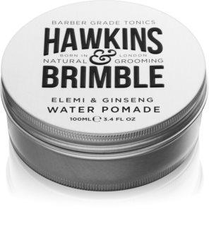 Hawkins & Brimble Natural Grooming Elemi & Ginseng Haarpomade auf Wasserbasis