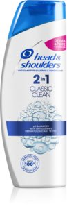 Head & Shoulders Classic Clean champú anticaspa 2 en 1