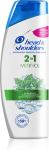 Head & Shoulders Menthol shampoing antipelliculaire 2 en 1