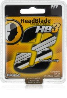 HeadBlade HB3 recarga de lâminas