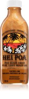 Hei Poa Pure Tahiti Monoï Oil Golden Mother of Pearl Monitoiminen Öljy Kimalluksen kanssa
