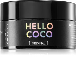 Hello Coco Sweet Mint charbon actif pour le blanchiment des dents