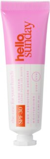 hello sunday  the one for your hands krém na ruce SPF 30