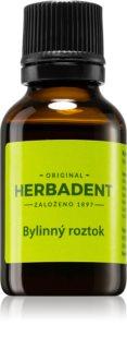 Herbadent Original  alkoholväxtextrakt för tänder, tunga och tandkött