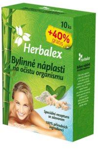 Herbalex Bylinné náplasti na očistu organismu detoxikační náplasti se zázvorem
