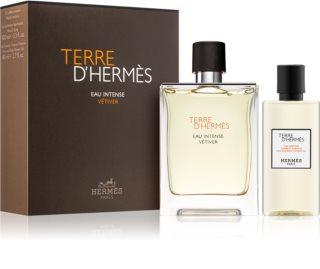 Hermès Terre d'Hermès Eau Intense Vétiver coffret cadeau I. pour homme