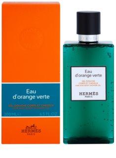 Hermès Eau d'Orange Verte gel de douche pour cheveux et corps mixte