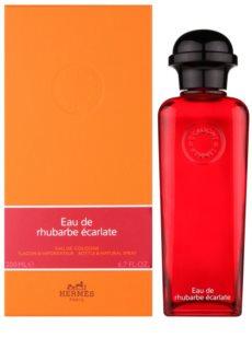 Hermes Eau de Rhubarbe Écarlate eau de cologne Unisex