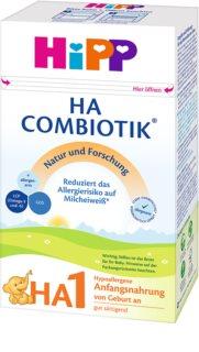 Hipp HA 1 počáteční mléčná kojenecká výživa v BIO kvalitě