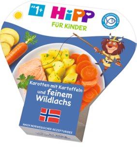 Hipp BIO brambory se zeleninou a jemným lososem