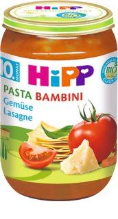 Hipp BIO Pasta Bambini zeleninové lasagne dětský příkrm