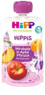 Hipp 100% ovoce jablko - broskev - mirabelka ovocný příkrm