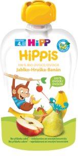 Hipp 100% ovoce jablko – hruška – banán ovocný příkrm
