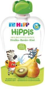 Hipp 100% ovoce hruška – banán – kiwi ovocný příkrm