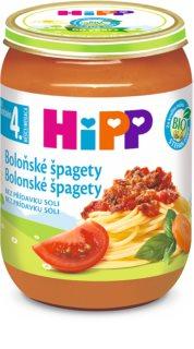 Hipp BIO boloňské špagety bez přídavku soli