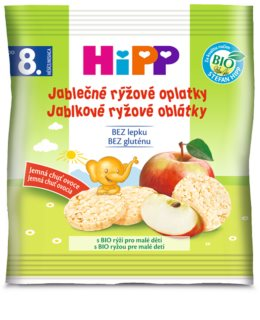 Hipp BIO jablečné rýžové oplatky