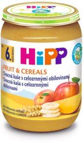 Hipp BIO ovocná kaše s celozrnnými obilovinami obilná kaše