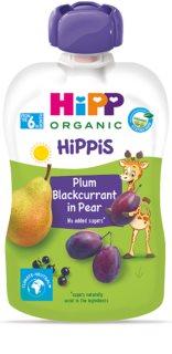 Hipp 100% ovoce hruška – černý rybíz – švestka ovocný příkrm