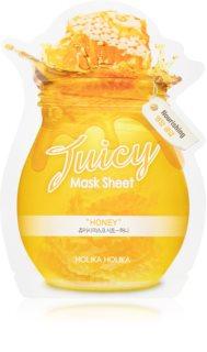 Holika Holika Juicy Mask Sheet Honey plátenná maska s vysoko hydratačným a vyživujúcim účinkom