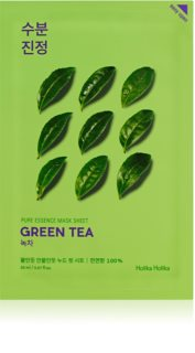 Holika Holika Pure Essence Green Tea Nourishing Sheet Mask For Sensitive And Reddened Skin