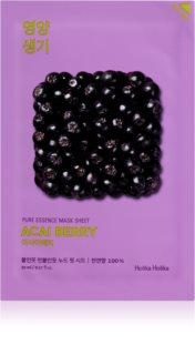 Holika Holika Pure Essence Acai Berry Exfoliating Face Sheet Mask