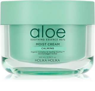 Holika Holika Aloe Soothing Essence  Moisturizing Cream For Face with Cooling Effect
