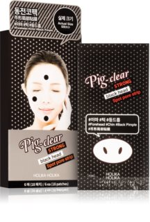 Holika Holika Pig Nose Strong Cleaning Patch to Treat Acne